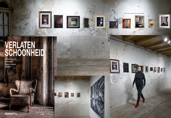 2019 KUNSTAANZ Deventer. Photography 'Inside'. Due to 1000 visitors, this exhibition has been extended until June 30
